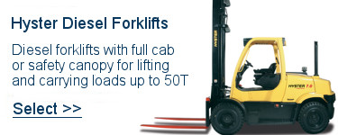 Select Hyster Diesel Forklifts