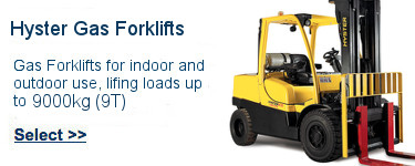 Select Hyster Gas Forklifts